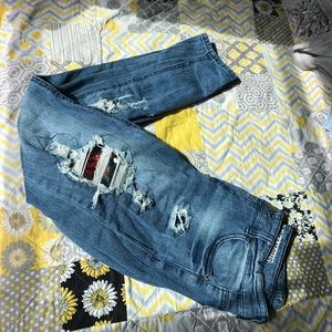 Almost Famous Mid-Rise Skinny Jeans